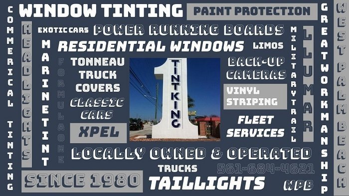 back-up camers | West Palm Beach | Vinyl Striping | Window Tints